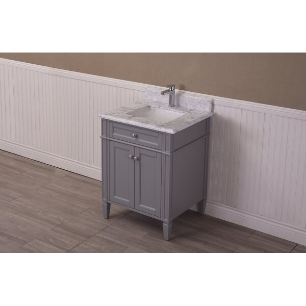 Freeland 24 Single Bathroom Vanity Set by Charlton Home