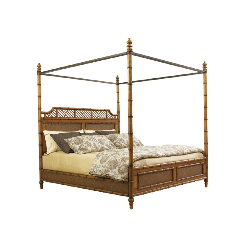 Tommy Bahama Home Island Estate Canopy Bed Reviews Wayfair