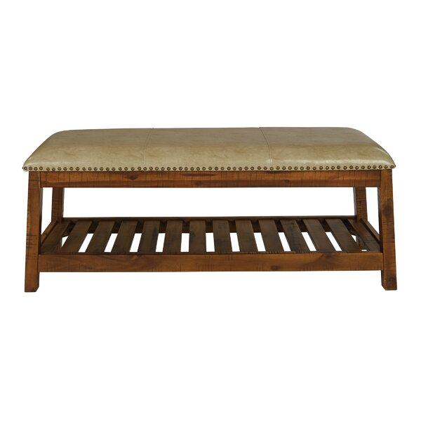 Cogar Upholstered Bench by Alcott Hill