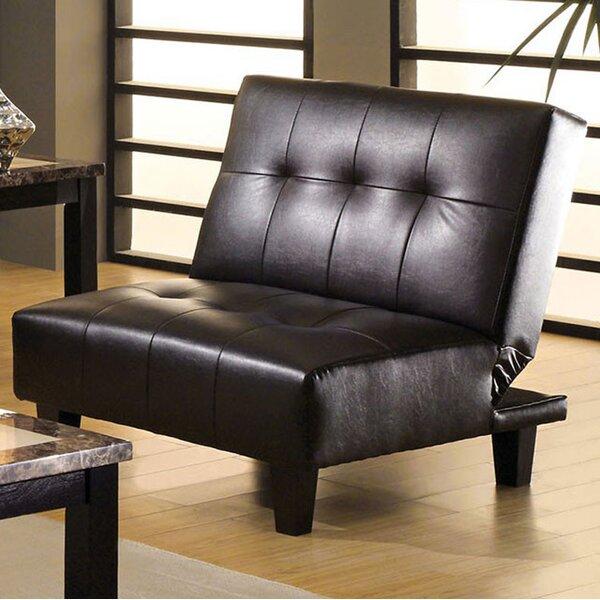 Rogge Contemporary Convertible Chair by Latitude Run