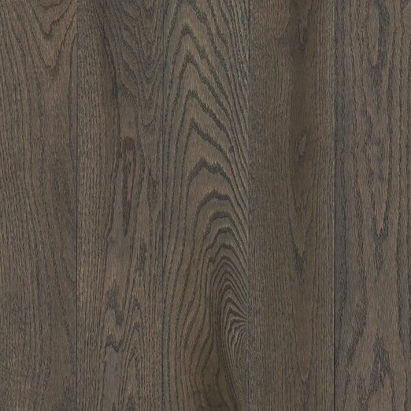 Prime Harvest 5 Solid Oak Hardwood Flooring in Low Glossy Oceanside Gray by Armstrong Flooring