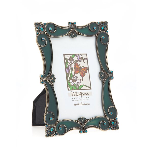 Marposa Scroll Picture Frame by Philip Whitney