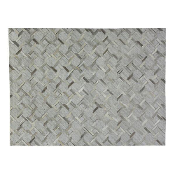 One-of-a-Kind Berlin Hand-Woven Silver/Gray Area Rug by Exquisite Rugs