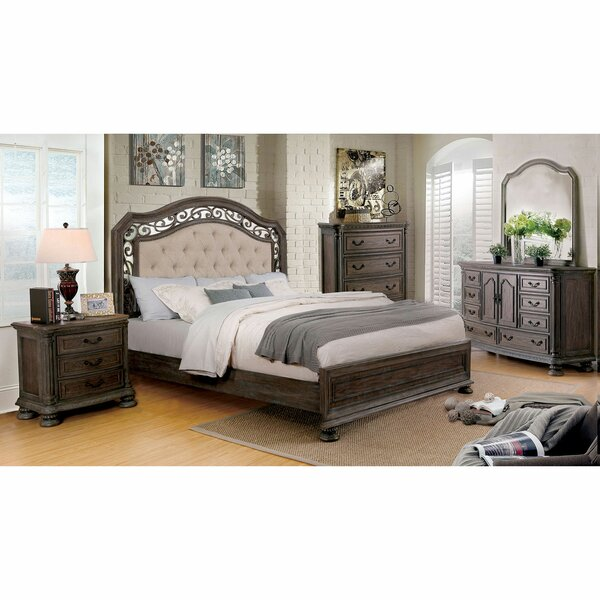 Jaylynn Upholstered Standard Bed by One Allium Way