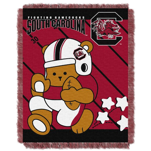 Collegiate South Carolina Baby Throw by Northwest Co.