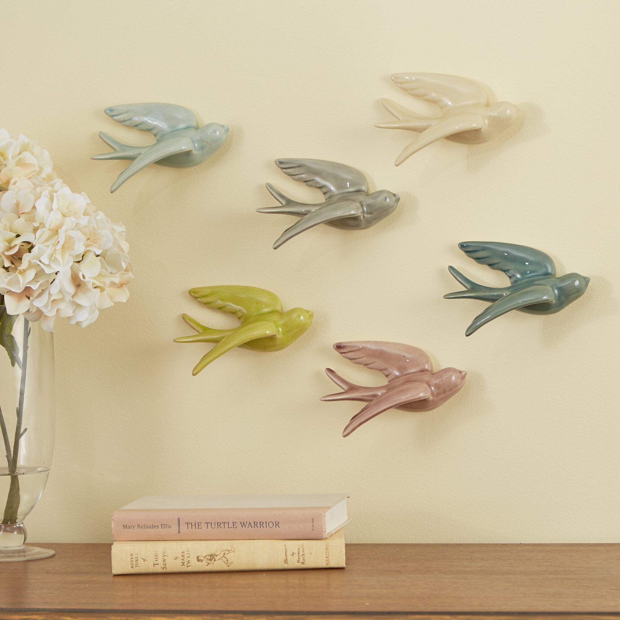 Birch Lane™ Swallows Wall Decor & Reviews | Wayfair