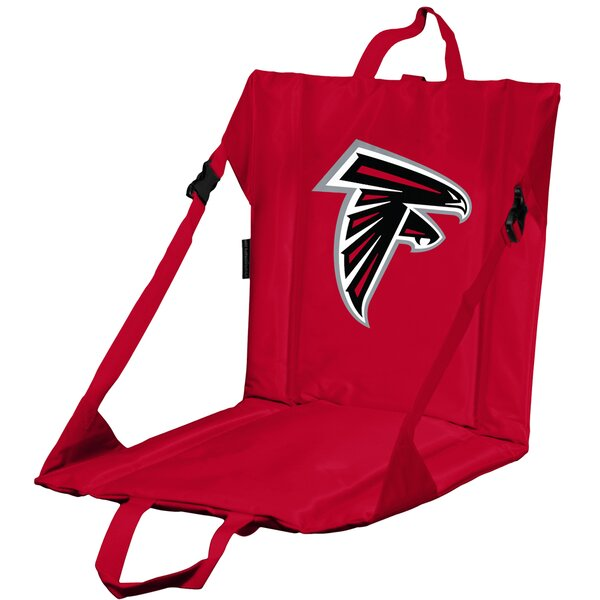 Folding Stadium Seat with Cushion by Logo Brands