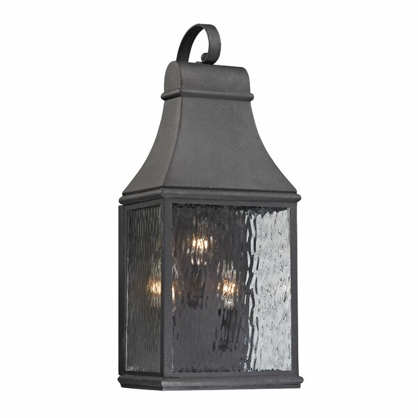 Negron 3-Light Outdoor Wall Lantern by August Grove