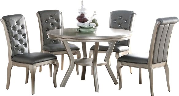 Adele 5 Piece Dining Set by Infini Furnishings Infini Furnishings