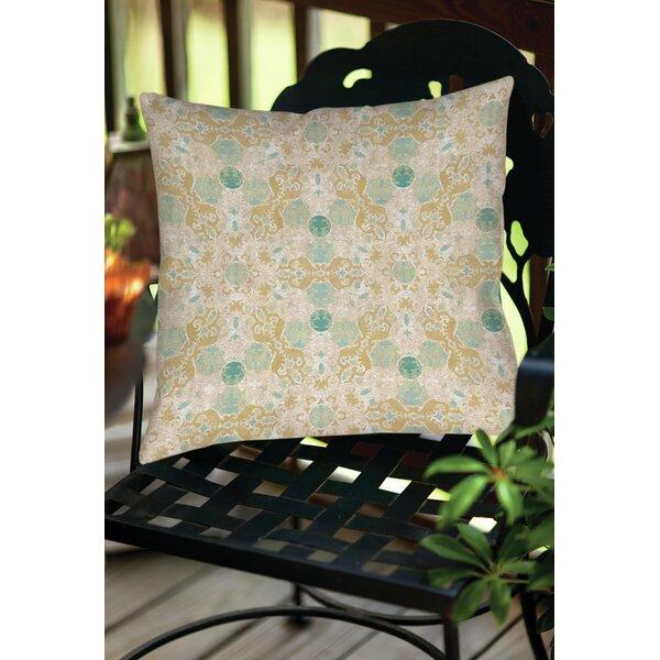 Kerrie Patterns 12 Indoor/Outdoor Throw Pillow by Red Barrel Studio