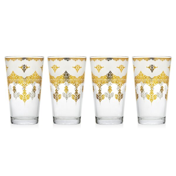 14 Oz. Highball Glass (Set of 4) by Studio Silversmiths