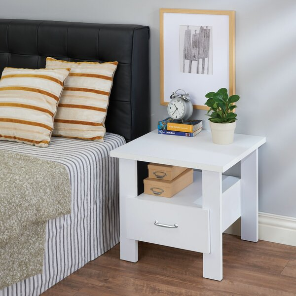 Montanez 1 Drawer Nightstand by House of Hampton