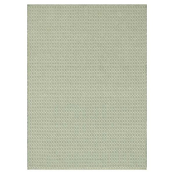 Kirchoff Hand-Woven Jade Indoor/Outdoor Area Rug by Charlton Home