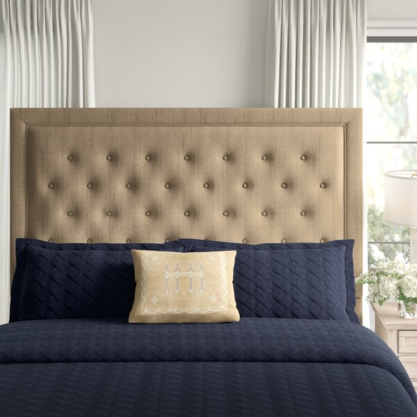 Yorkshire Upholstered Panel Headboard by Greyleigh