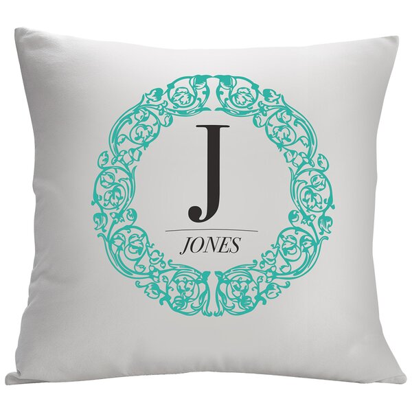 Personalized Reef Decorative Cushion Cover by Monogramonline Inc.