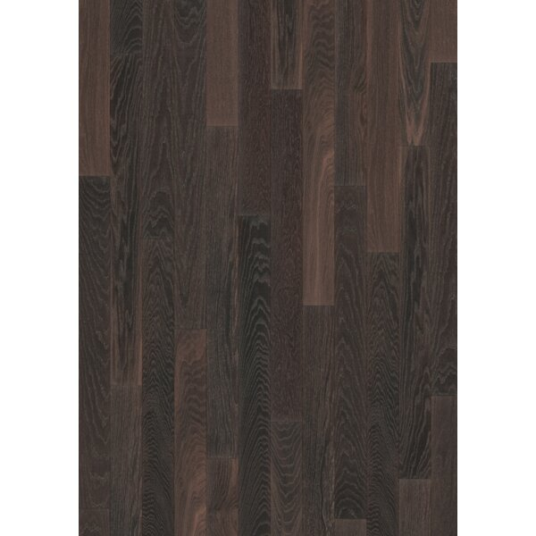 Linnea 4-5/8 Engineered Oak Hardwood Flooring in Truffle by Kahrs