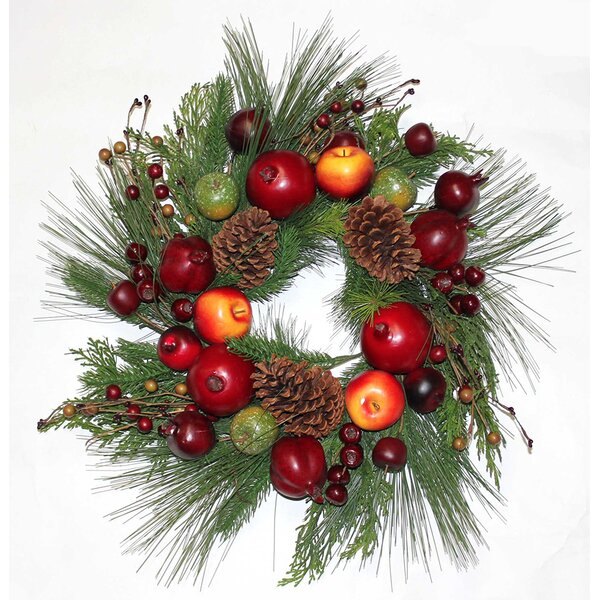 Pine 23 PVC Wreath by The Holiday Aisle