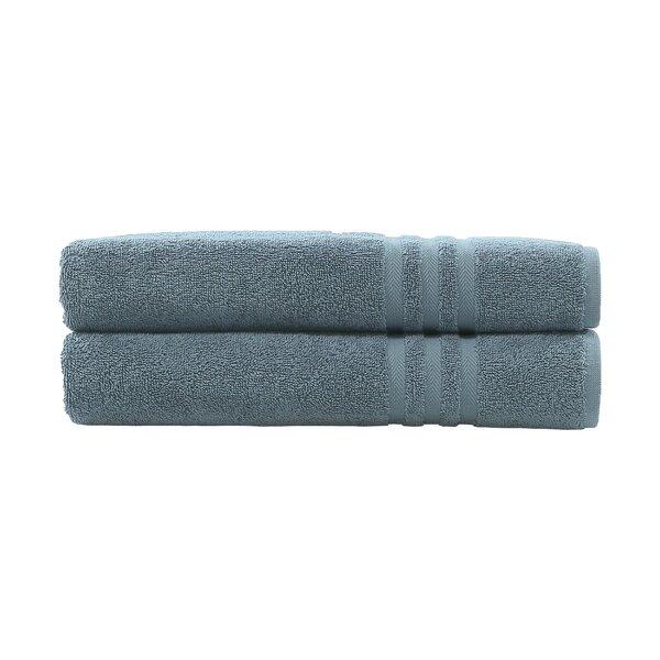 Denzi Bath Turkish Cotton Bath Towel (Set of 2) by Linum Home Textiles