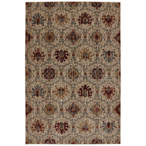 Dryden Burlington Light Camel Area Rug by Mohawk Home