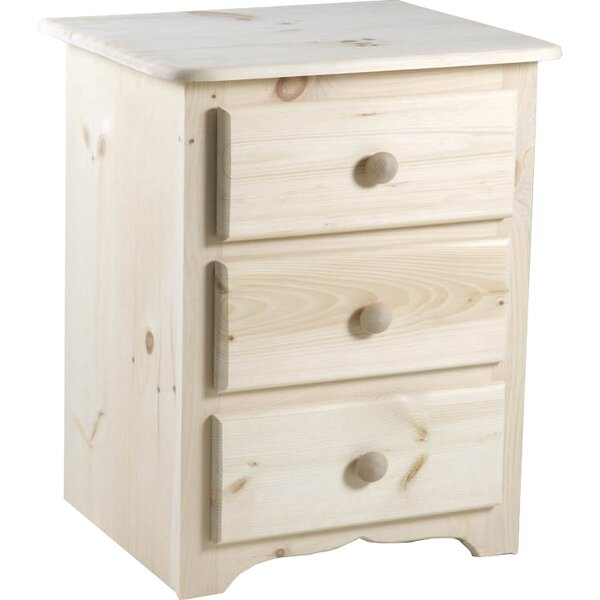 Langston 3 Drawer Nightstand by Chelsea Home
