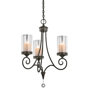 Azaria 3-Light Candle-Style Chandelier