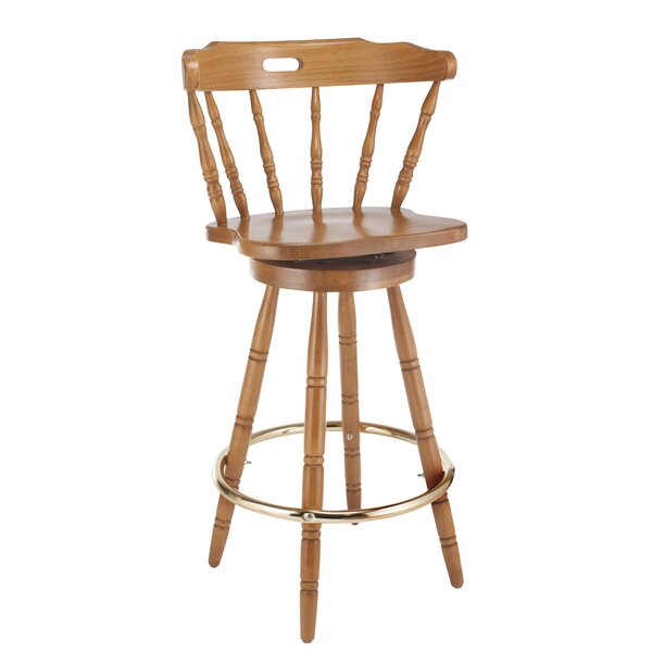 Franny 30 Swivel Bar Stool by Darby Home Co