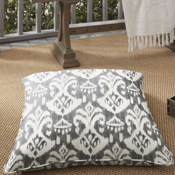 Cann Sunbrella Indoor / Outdoor Ikat Euro Pillow