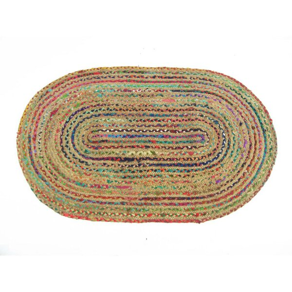 Adaline Brown/Red/Blue Area Rug by Latitude Run