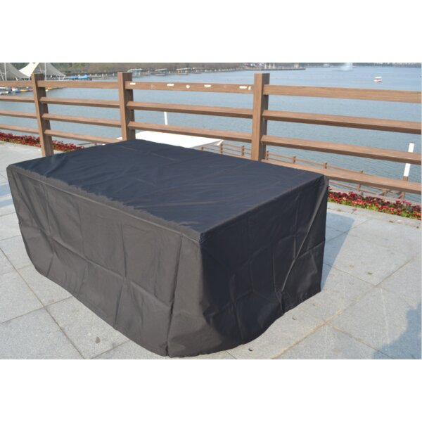 Rectangle Waterproof Patio Sofa Cover by Freeport Park