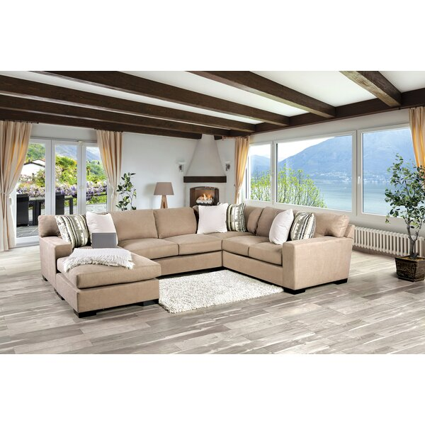 Charleston Reversible Sectional By Wrought Studio