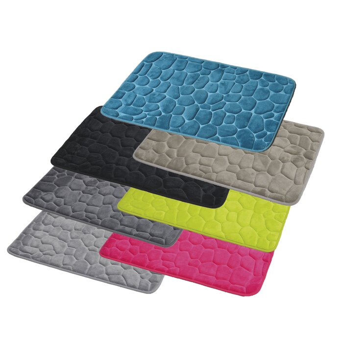 Shaped Memory Foam Bath Rug