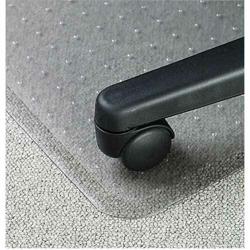 Economy Weight Beveled Edge Chair Mat by Lorell
