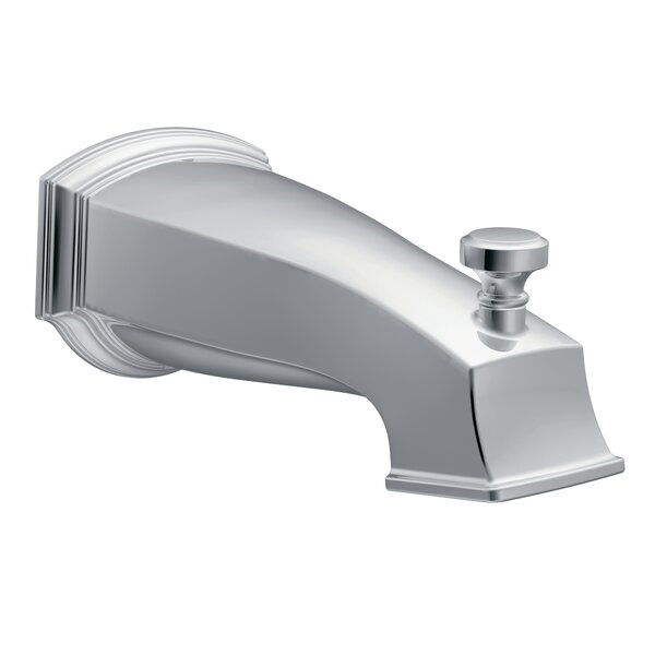 Rothbury Single Handle Wall Mounted Tub Spout Trim With Diverter By Moen