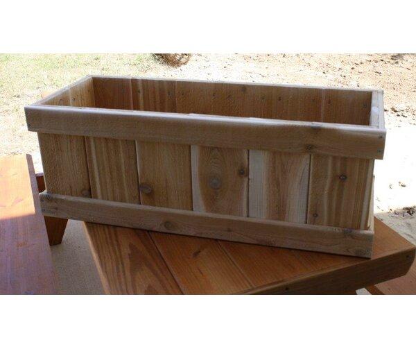 Cedar Planter Box by Cedar Creek Woodshop