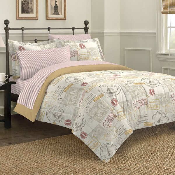 World Traveler Mini Comforter Set by Discoveries