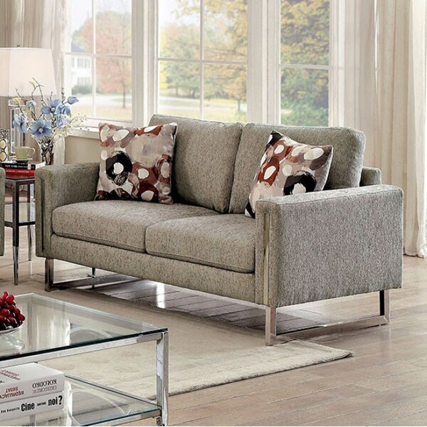 Metrocles Transitional Loveseat by Brayden Studio