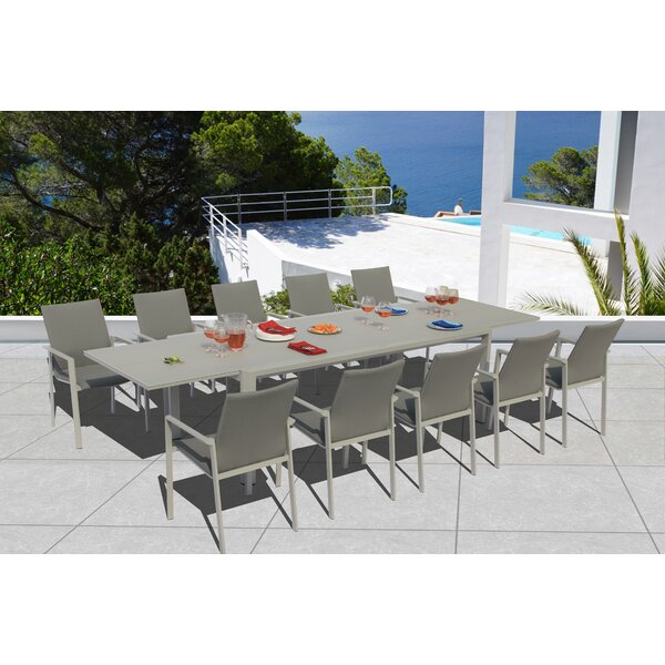 Montalto 11 Piece Dining Set by Latitude Run