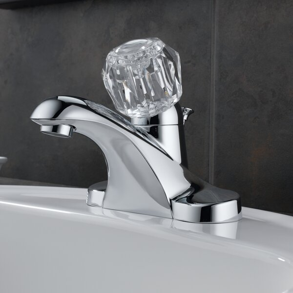 Foundations Centerset Bathroom Faucet with Single