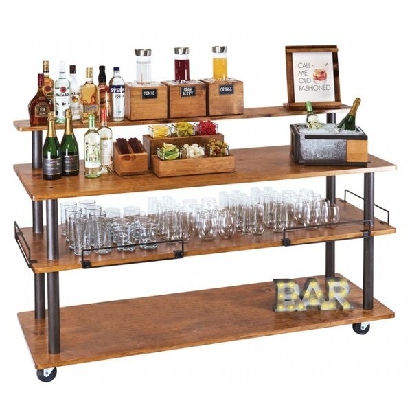 Madera U-Build Bar Cart by Cal-Mil