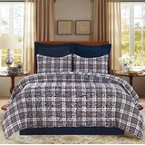 Dundee Reversible Quilt Set by August Grove®