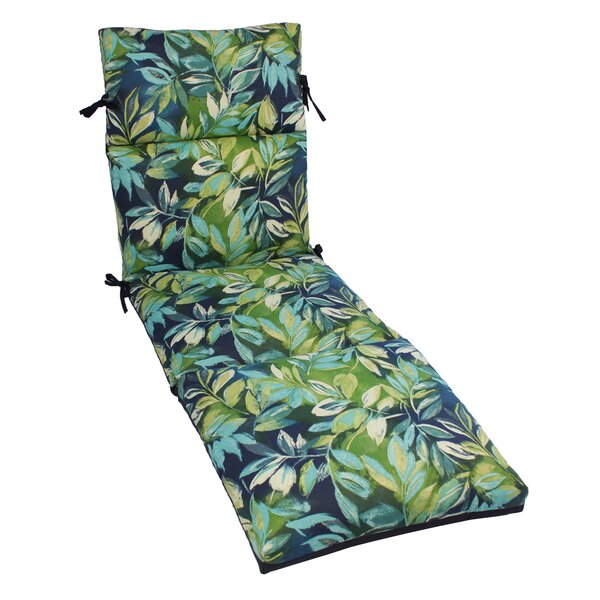 Zygi Indoor/Outdoor Chaise Lounge Cushion by Bay I