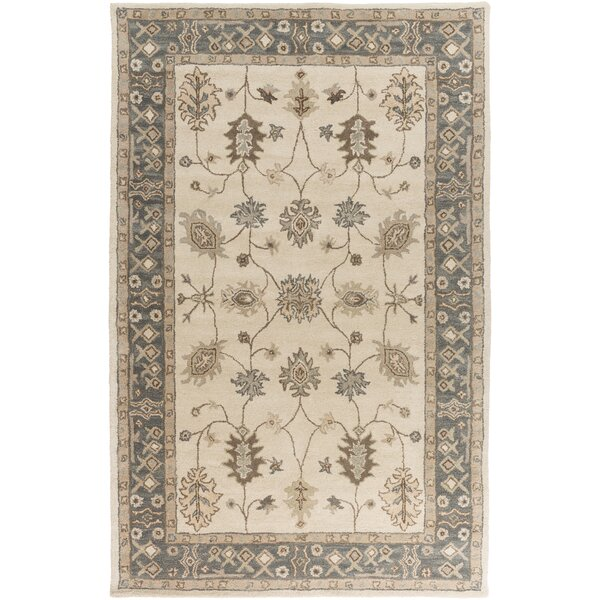 Plemmons Beige Area Rug by Three Posts