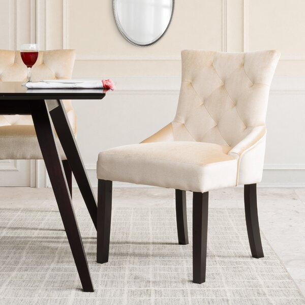 Lindsey Wood Frame Side Chair (Set of 2) by Willa Arlo Interiors