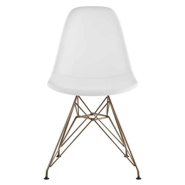 Eiffel Genuine Leather Upholstered Dining Chair by NyeKoncept