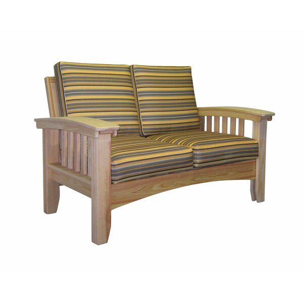 Stiefel Loveseat with Cushion by August Grove