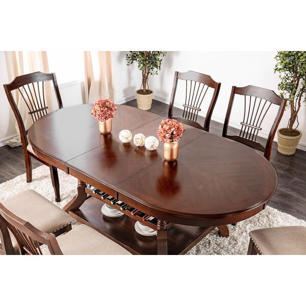 Lonnie Wooden Dining Table by Alcott Hill