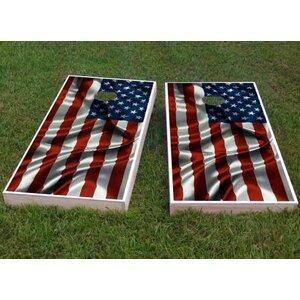 American Flag Cornhole Game (Set of 2)