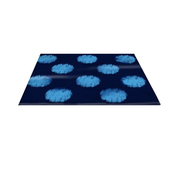 Big Dots Navy Area Rug by Manual Woodworkers & Weavers