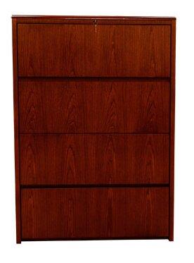 Zuri 4-Drawer Vertical Filing Cabinet