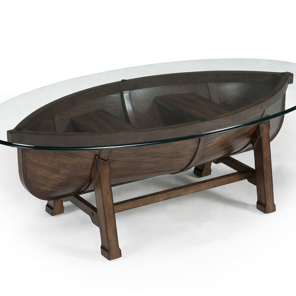 Beaufort Coffee Table with Tray Top by Magnussen Furniture Magnussen Furniture